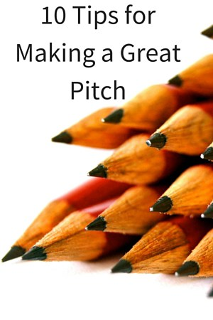 Top 10 Tips for Making a Great Pitch (with Bonus NPR Interview)