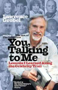 "Cover of ""You, Talking to Me"" by Lawrence Grobel"